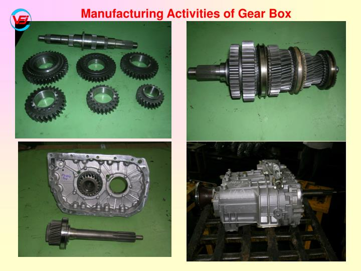 Manufacturing Activities of Gear Box