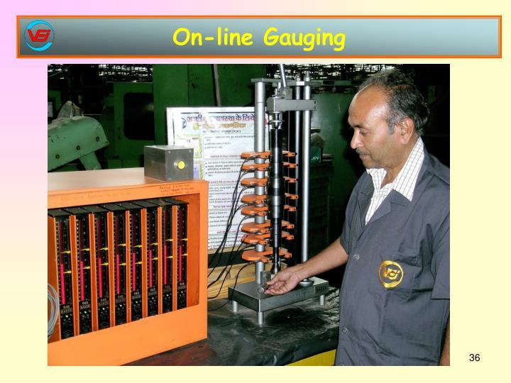 On-line Gauging