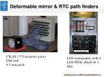 deformable mirror rtc path finders