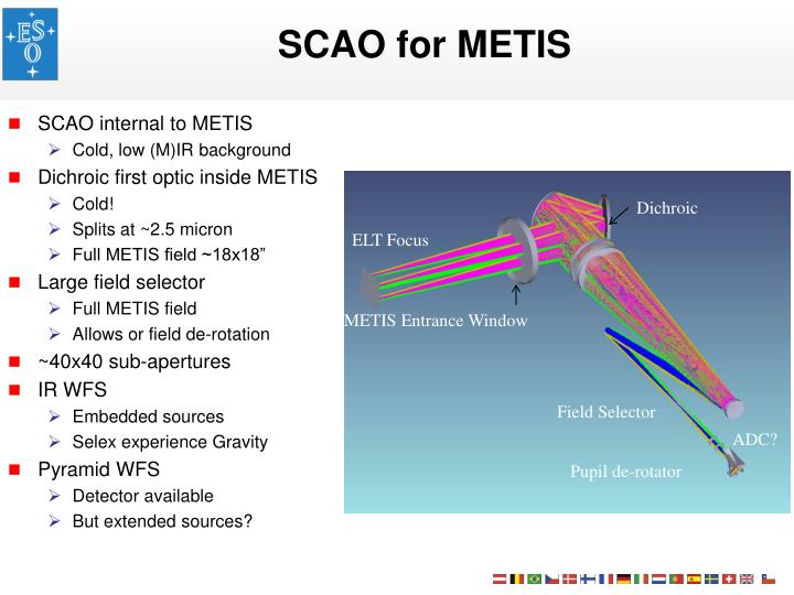 SCAO for METIS