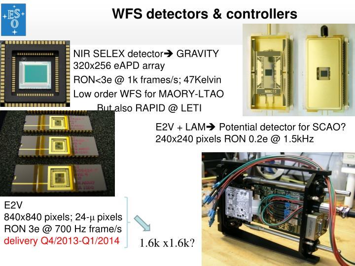 WFS detectors & controllers