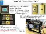 wfs detectors controllers