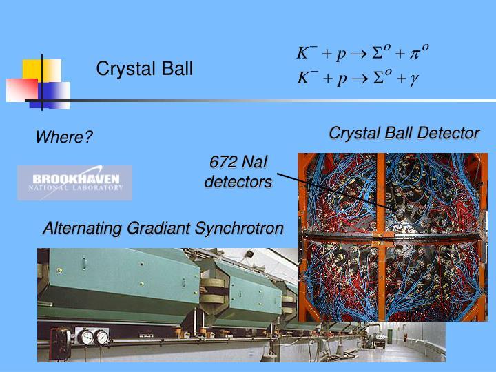 Crystal Ball Detector