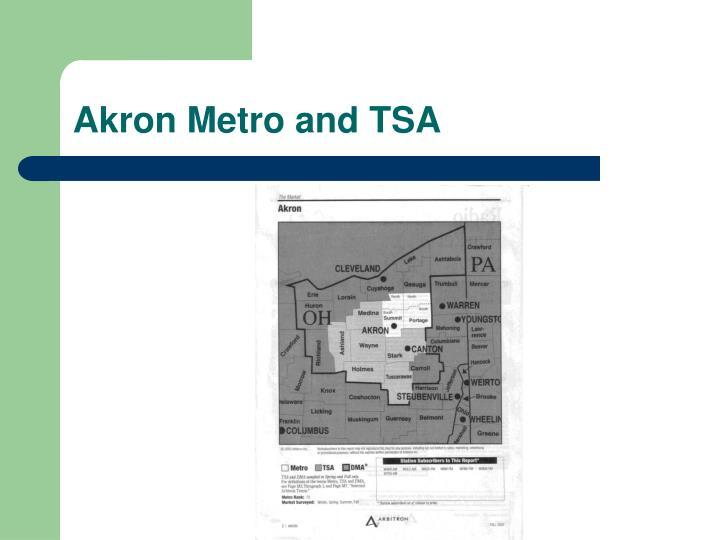 Akron Metro and TSA
