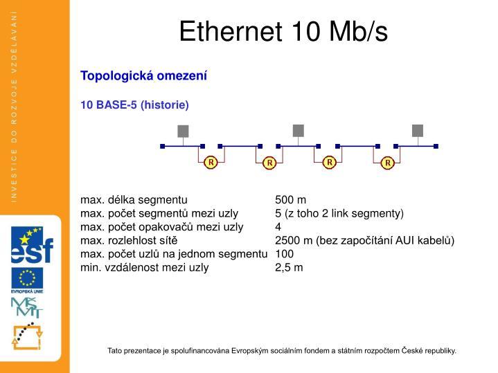 Ethernet 10 Mb/s