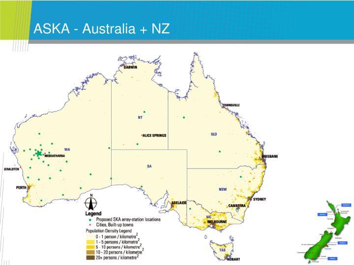 ASKA - Australia + NZ