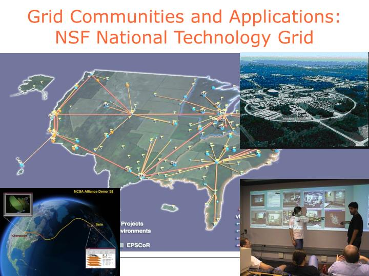 Grid Communities and Applications: