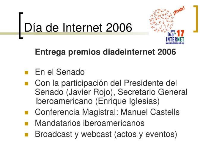 Día de Internet 2006