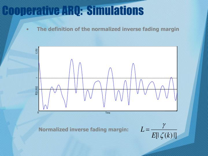 Cooperative ARQ:  Simulations