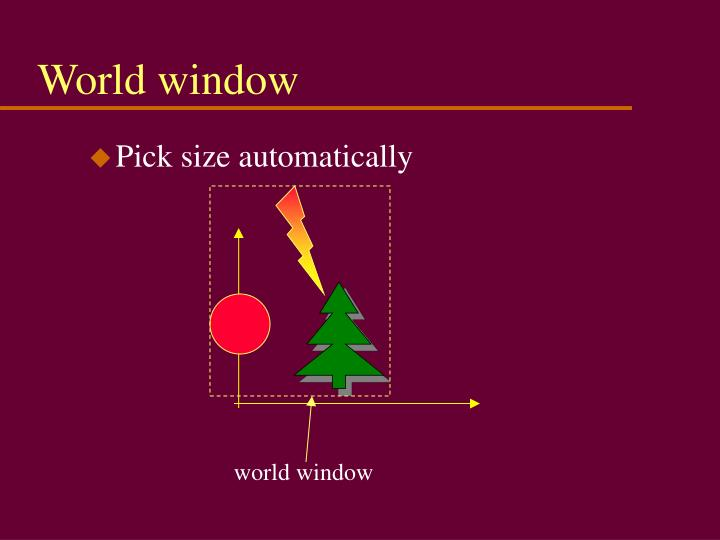 World window