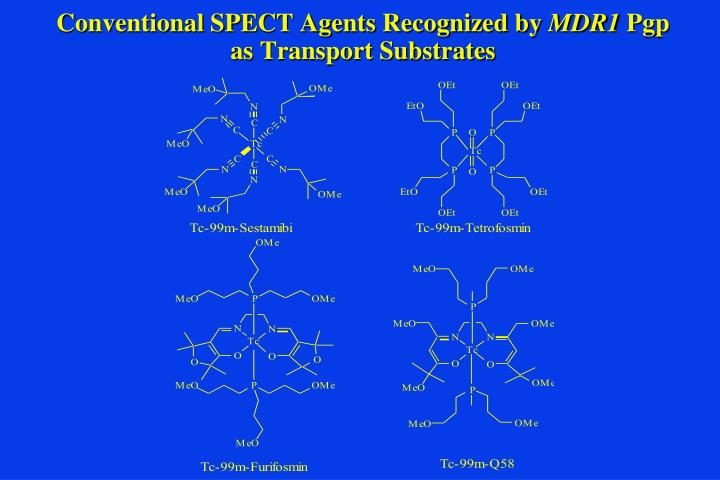 Conventional SPECT Agents Recognized by