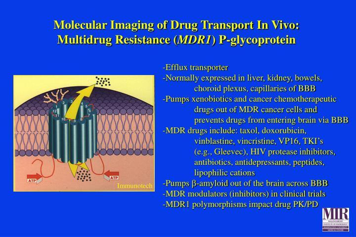 Molecular Imaging of Drug