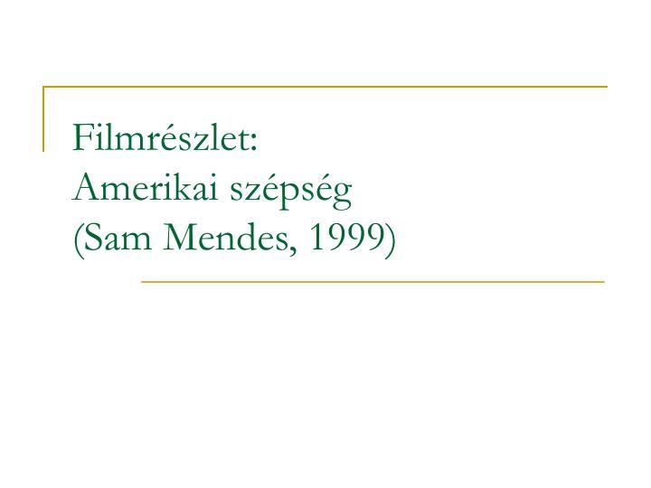 Filmrészlet: