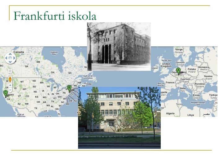 Frankfurti iskola