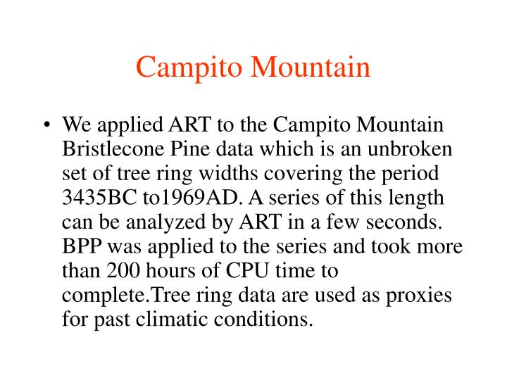 Campito Mountain