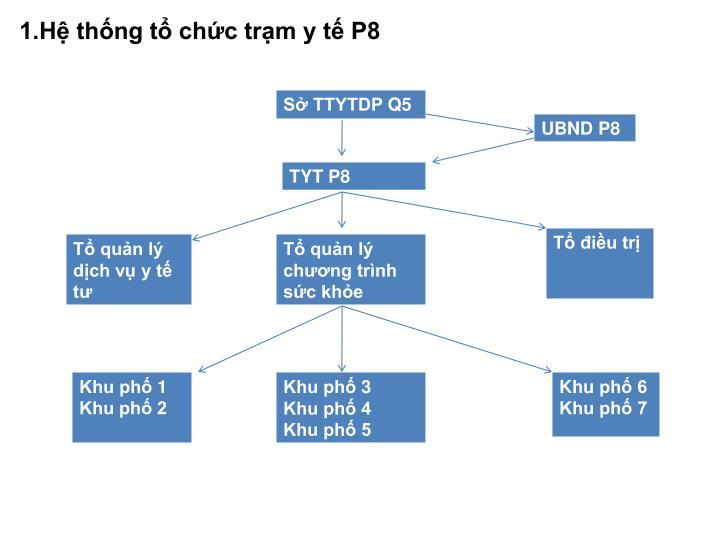 1.Hệ thống tổ chức trạm y tế P8