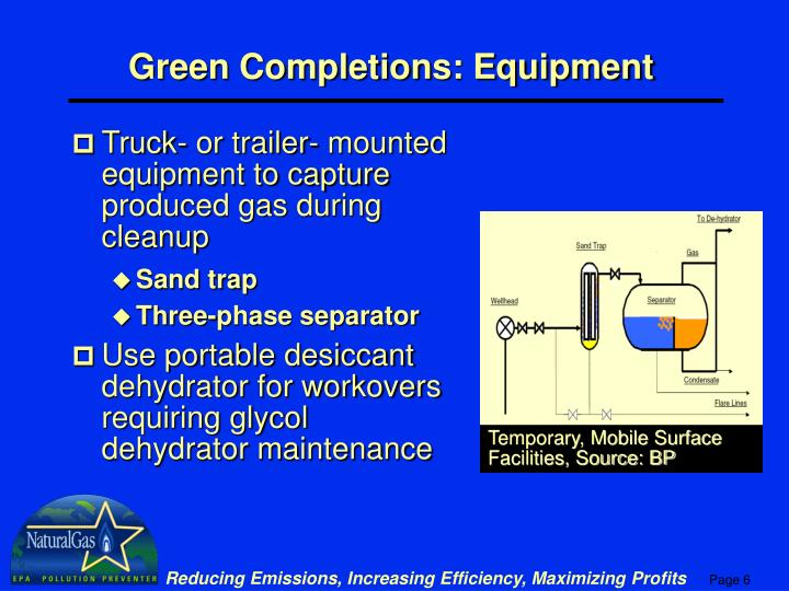 Temporary, Mobile Surface Facilities, Source: BP
