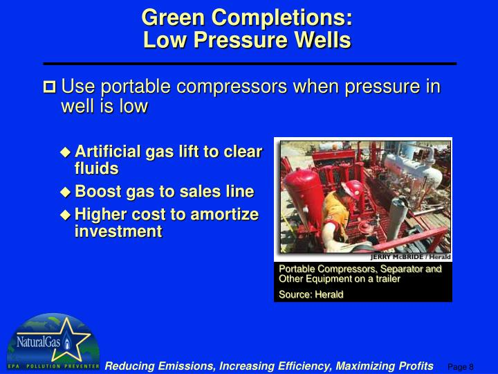 Portable Compressors, Separator and Other Equipment on a trailer