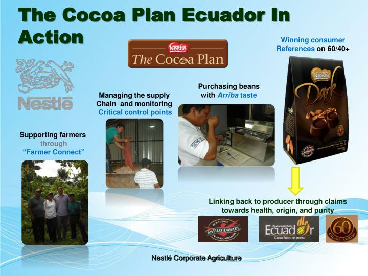The Cocoa Plan Ecuador In Action