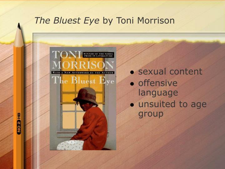 persuasive essay bluest eye