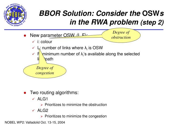BBOR Solution: