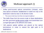 multicast approach i