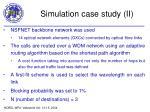simulation case study ii
