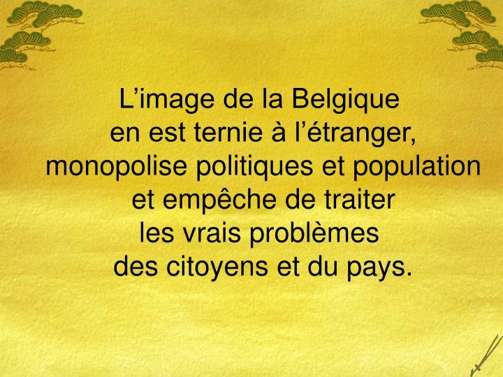 L'image de la Belgique