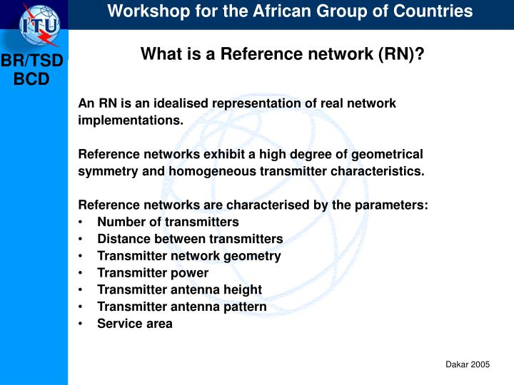 What is a Reference network (RN)?