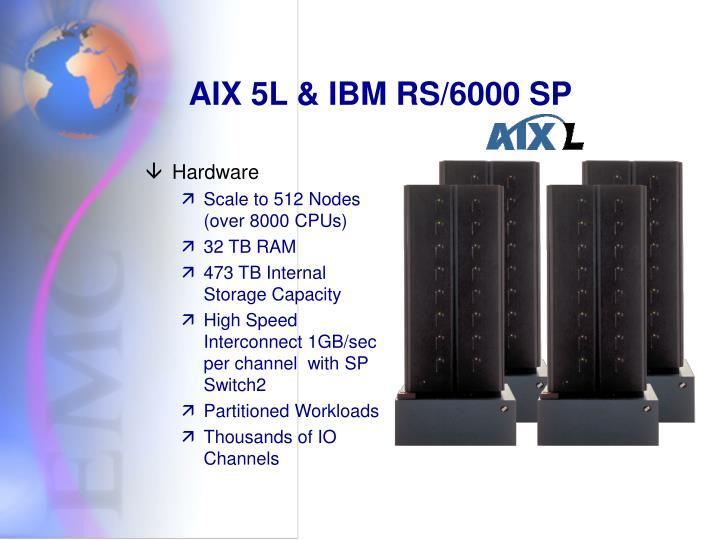 AIX 5L & IBM RS/6000 SP