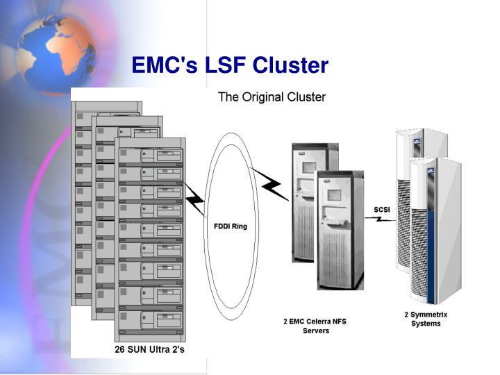 EMC's LSF Cluster