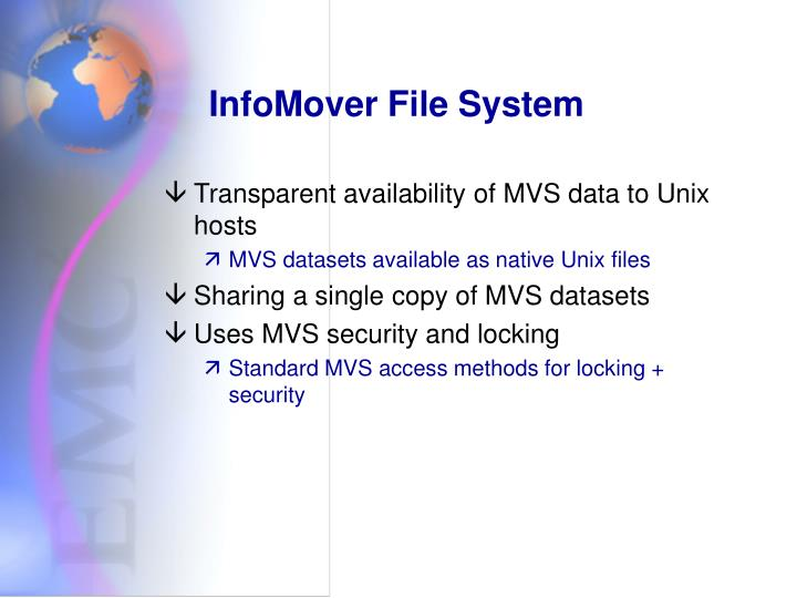 InfoMover File System