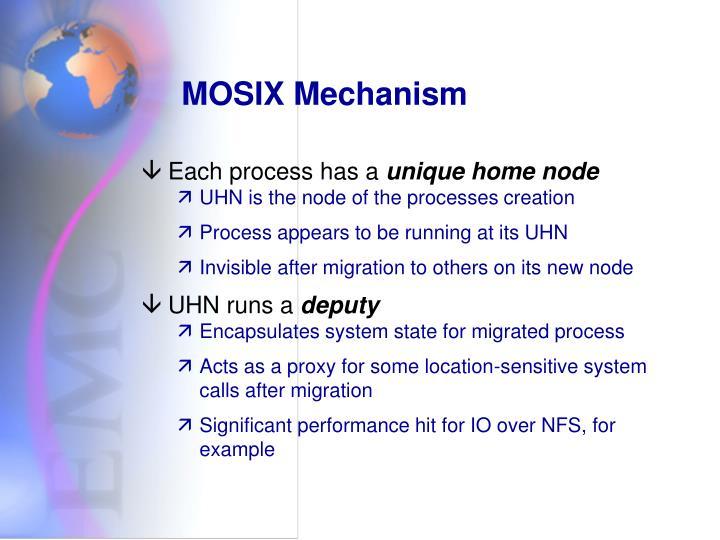 MOSIX Mechanism