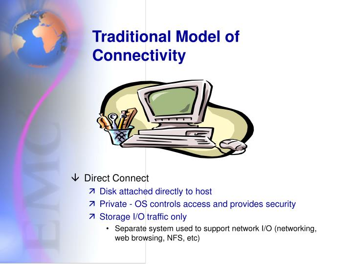 Traditional Model of Connectivity