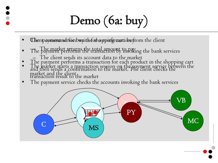 Demo (6a: buy)