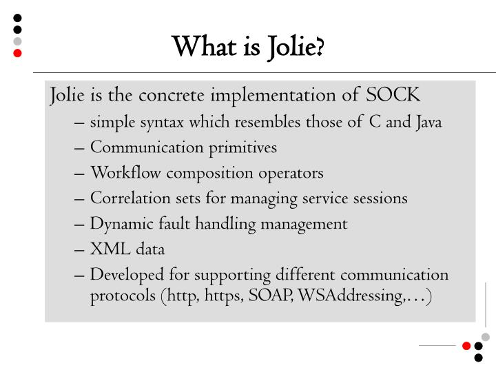 What is jolie