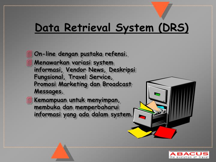 Data Retrieval System (DRS)