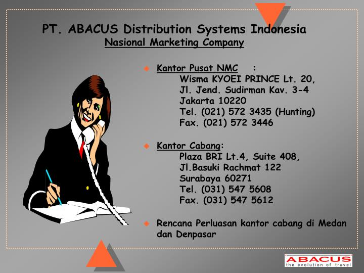 PT. ABACUS Distribution Systems Indonesia