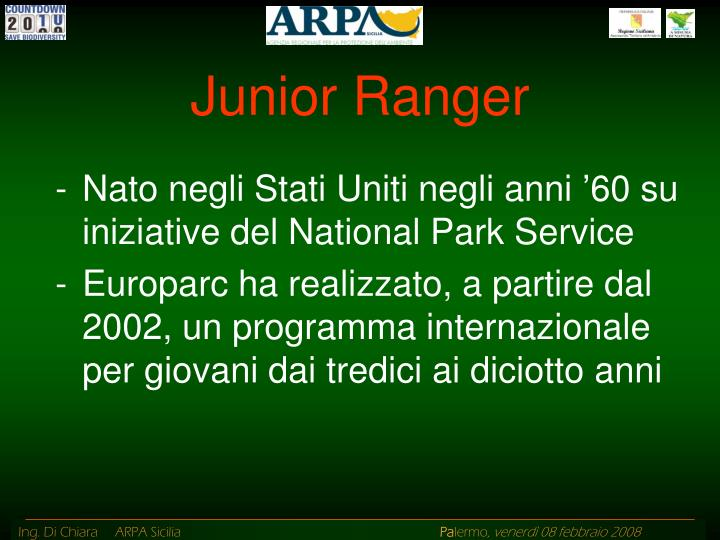 Junior Ranger