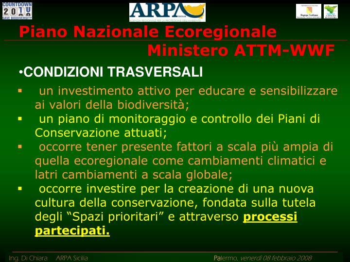 Piano Nazionale Ecoregionale