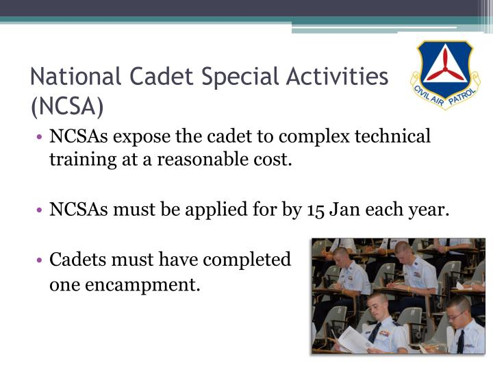 National Cadet Special Activities (NCSA)