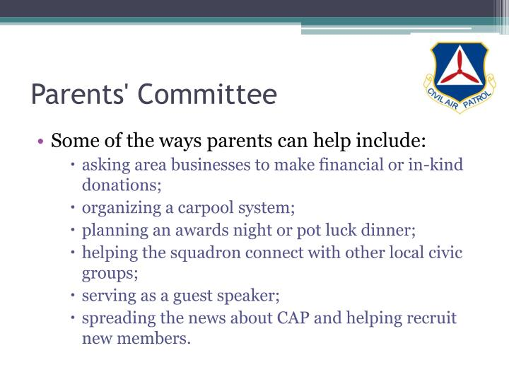 Parents' Committee