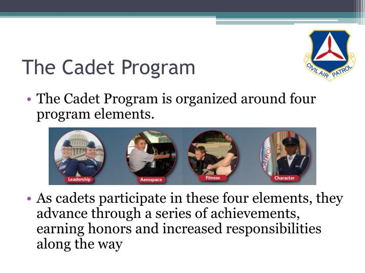 The cadet program
