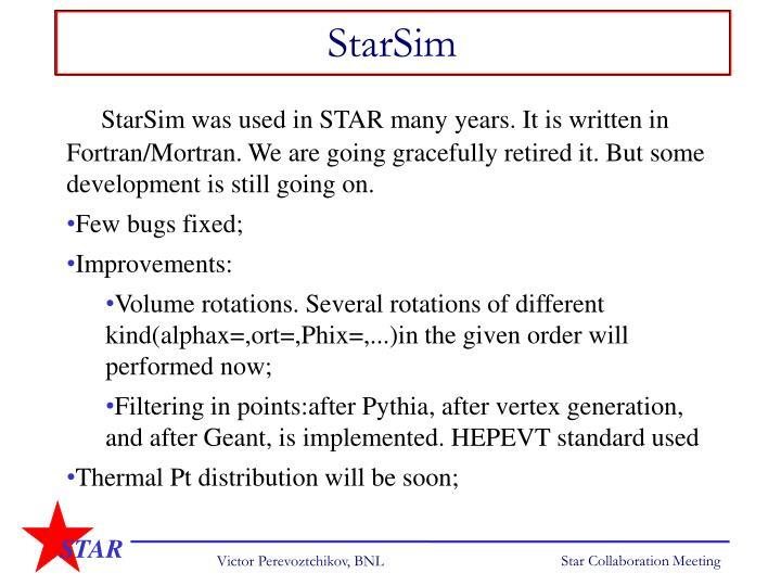 StarSim