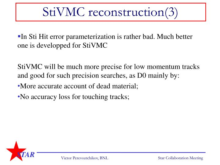 StiVMC reconstruction(3)