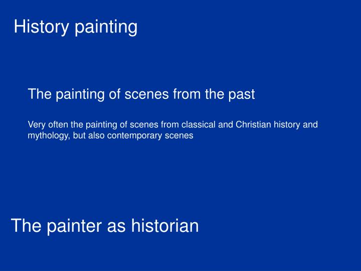 History painting