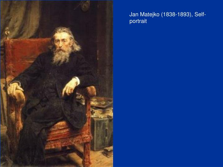 Jan Matejko (1838-1893), Self-portrait