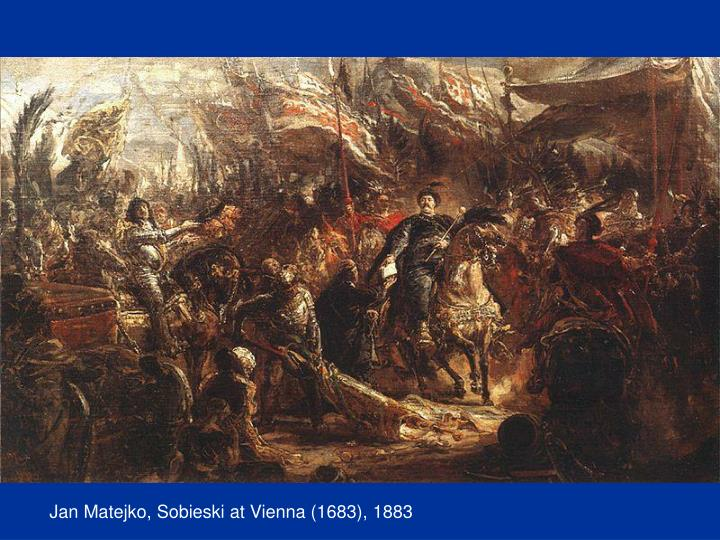 Jan Matejko, Sobieski at Vienna (1683), 1883