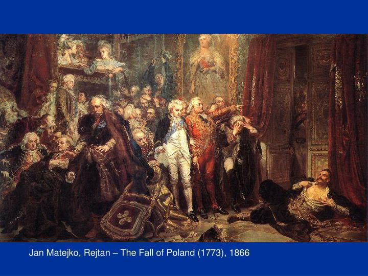 Jan Matejko, Rejtan – The Fall of Poland (1773), 1866