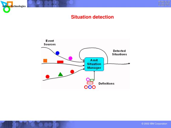 Situation detection
